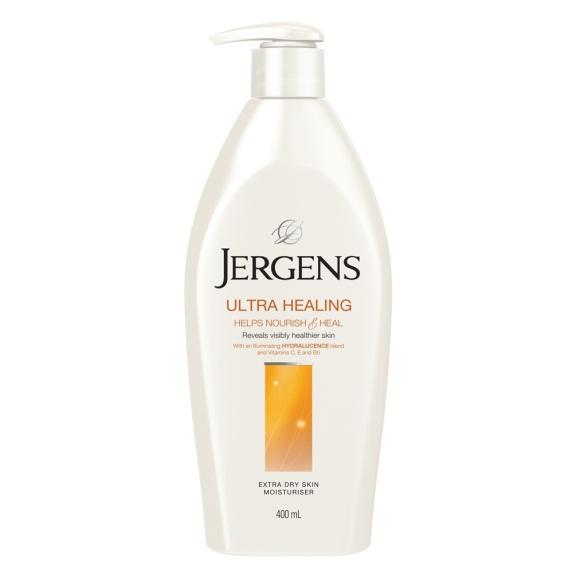 ผลการค้นหารูปภาพสำหรับ Jergens Ultra Healing Extra Dry Skin Moisturizer