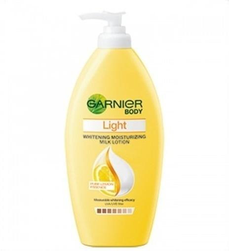 ผลการค้นหารูปภาพสำหรับ Garnier Body Lotion Light Extra